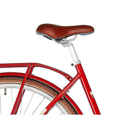 Ortler Copenhagen Light - Vélo de ville - rouge